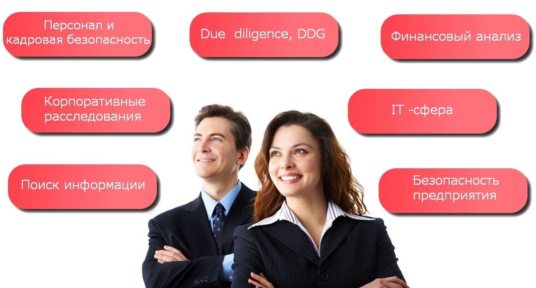 Компании России получают услуги от детективного агентства DASC